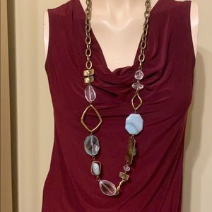 💐CHICO'S LONG NECKLACE AS SHOWN💐RXCEL. COND.😃